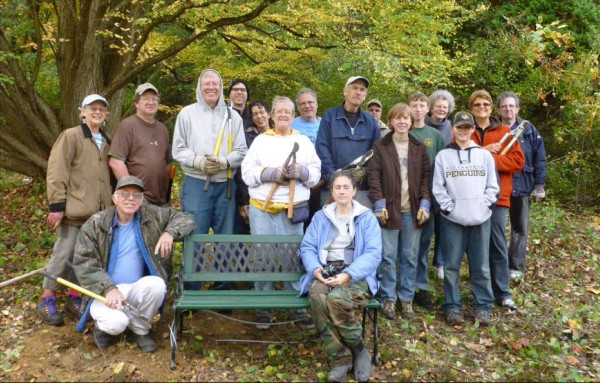Wissahickon Workday at North Park plus Tree Planting to honor Esther Allen
