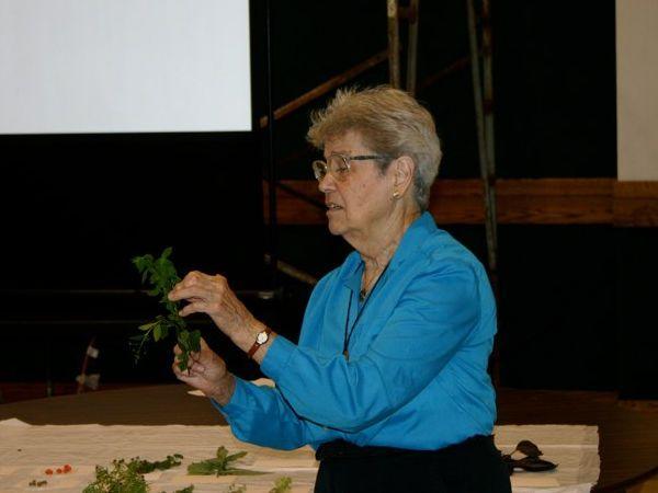 Esther Allen, teaching at Wissahickon Nature Club